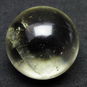 シトリン水晶 丸玉 27mm  t318-3501|seian
