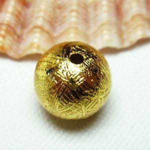 ゴールドギベオン メテオライト 粒売6mm  パワーストーン 天然石 t352-1423|seian