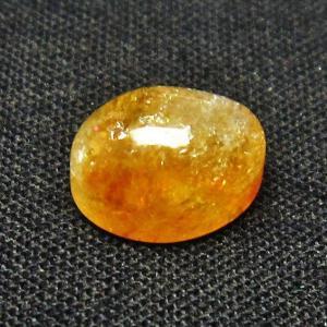 シトリン水晶 ルース t358-1703 seian