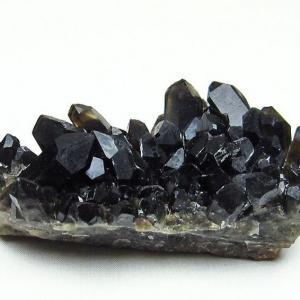 アーカンソー産  モリオン 純天然 黒水晶 クラスター t386-6547|seian
