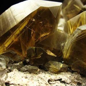 タイチンルチル クォーツ 原石 クラスター 8.9Kg パワーストーン 天然石 t4-800|seian