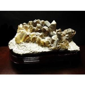タイチンルチル クォーツ 原石 クラスター 8.9Kg パワーストーン 天然石 t4-800 seian 04