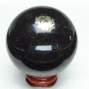 フローライト パイライト共生水晶  丸玉 53mm  パワーストーン 天然石 t41-296|seian
