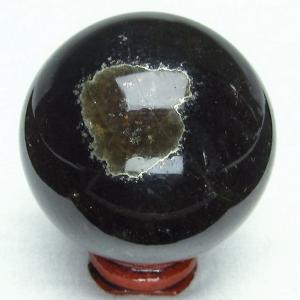フローライト パイライト共生水晶  丸玉 53mm  パワーストーン 天然石 t41-298|seian