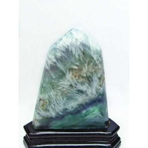 エンジェルフェザー フローライト  六角柱 パワーストーン 天然石 t41-310|seian