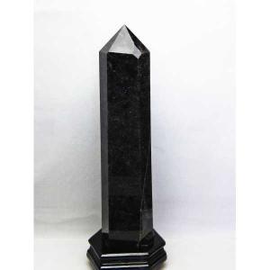 3.5Kg モリオン 純天然 黒水晶  六角柱 t43-5477|seian