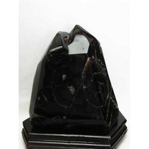 モリオン 原石 本物  天然 黒水晶  六角柱 8.4Kg パワーストーン 天然石 t43-5508|seian