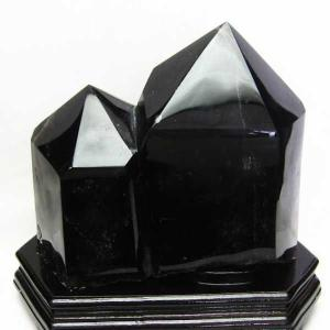 モリオン 原石 本物  天然 黒水晶  六角柱 7.5Kg パワーストーン 天然石 t43-5517|seian