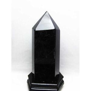 モリオン 原石 本物  天然 黒水晶  六角柱 4.5Kg t43-5555|seian