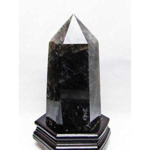 モリオン 原石 本物  天然 黒水晶  六角柱 2.2Kg パワーストーン 天然石 t43-5682|seian