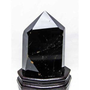モリオン 原石 本物  天然 黒水晶  六角柱 2.8Kg パワーストーン 天然石 t43-5697|seian