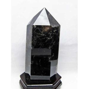 モリオン 原石 本物  天然 黒水晶  六角柱 4.1Kg パワーストーン 天然石 t43-5698|seian