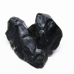 山東省産  モリオン 純天然 黒水晶  原石 t460-5740|seian