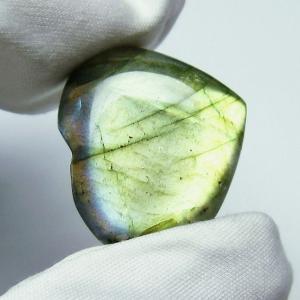 ラブラドライトハート 置物 パワーストーン 天然石 t499-1130|seian
