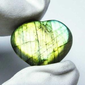 ラブラドライトハート 置物 パワーストーン 天然石 t499-1137|seian