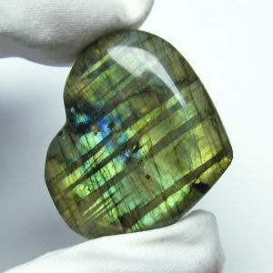 ラブラドライトハート 置物 パワーストーン 天然石 t499-1247|seian
