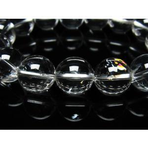アイリスクォーツ 虹入り  レインボー水晶  ブレスレット 15mm  t502-6038|seian|04