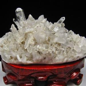 ヒマラヤ水晶クラスター t504-6324 seian