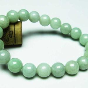 糸魚川翡翠 ブレスレット 10mm  t51-11282|seian
