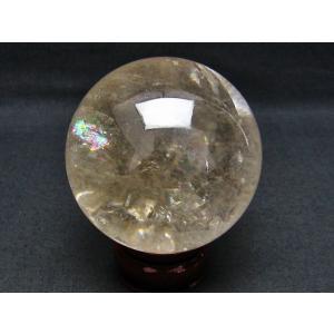 虹入り ライトニング水晶 丸玉 75mm  t529-4759|seian|02