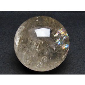 虹入り ライトニング水晶 丸玉 75mm  t529-4759|seian|03