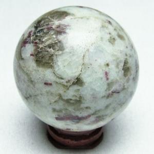 ピンクトルマリン 丸玉 51mm  パワーストーン 天然石 t540-1451|seian