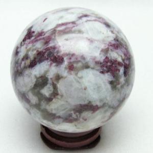 ピンクトルマリン 丸玉 53mm  パワーストーン 天然石 t540-1514|seian