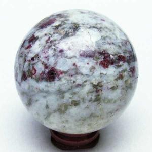 ピンクトルマリン 丸玉 57mm  パワーストーン 天然石 t540-1581|seian