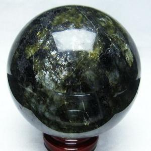2.4Kg ラブラドライト 丸玉 118mm  パワーストーン 天然石 t571-2371 seian
