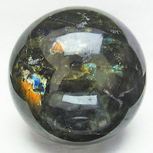 2.8Kg ラブラドライト 丸玉 123mm  パワーストーン 天然石 t571-2947 seian