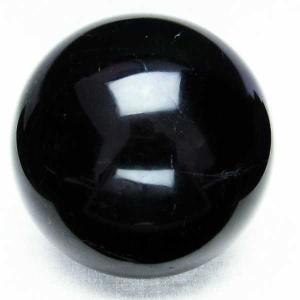 モリオン 原石 本物  純天然 黒水晶  丸玉 83mm  パワーストーン 天然石 t572-7479|seian