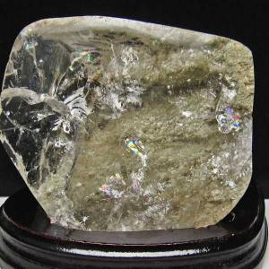 1.6Kg 虹入り スーパー水晶 原石 t577-2973 seian