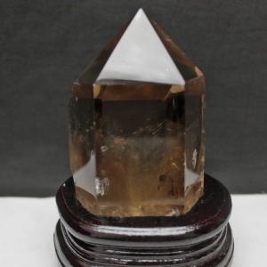 ライトニング水晶 六角柱 t581-5060|seian