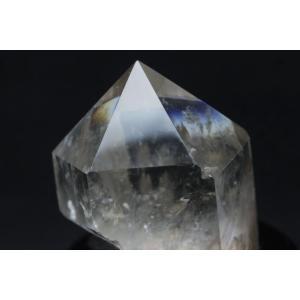 虹入り ライトニング水晶 六角柱 t581-5096 seian 04