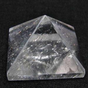ヒマラヤ水晶ピラミッド パワーストーン 天然石 t600-1156 seian