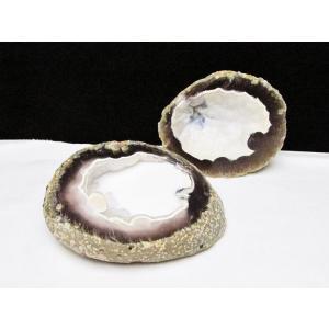ペア水晶トレジャーメノウ パワーストーン 天然石 t605-3207|seian|02