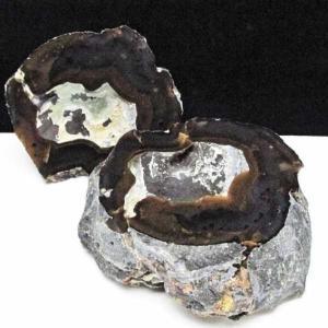 2Kg ペア水晶トレジャーメノウ パワーストーン 天然石 t605-3350|seian