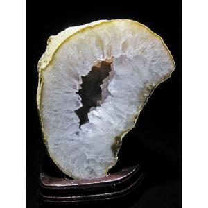 6.9Kg ゴールドタイチンルチルアゲート水晶ドーム パワーストーン 天然石 t605-611|seian