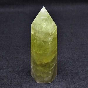 シトリン水晶 六角柱 t61-10176|seian