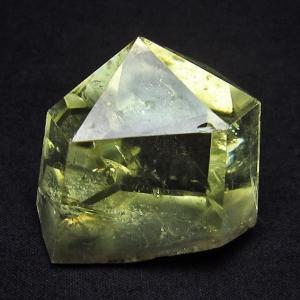 シトリン水晶 六角柱 t61-9435 seian