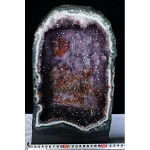 13Kg ブラジル産 アメジストドーム 天へ昇るかの様な昇形紫結晶 t611-6008|seian