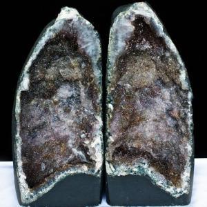 アメジスト 原石 20.8Kg ブラジル産  アメジスト ペアドーム あらゆる個性を内包した異形紫結晶 2個口 同梱不可  t611-6360|seian
