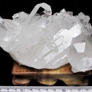 アーカンソー州産 水晶クラスター t619-3414|seian