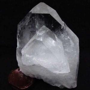 アーカンソー州産  水晶 原石 t619-4281|seian