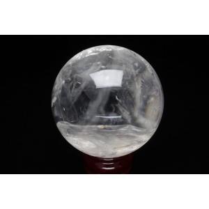 虹入り ヒマラヤ水晶 丸玉 79mm  t62-13040|seian|02