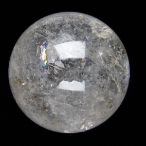 ヒマラヤ水晶 丸玉 50mm  t62-13262