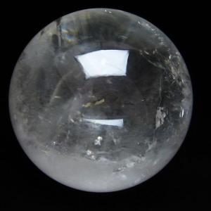 1.2Kg 虹入り ヒマラヤ水晶 丸玉 95mm  t62-13507|seian