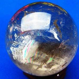 ヒマラヤ水晶 水晶玉 天然 置物 丸玉 47mm パワーストーン 天然石 t62-251|seian