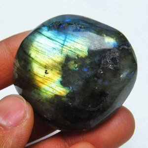 ラブラドライト 原石 t623-6697|seian
