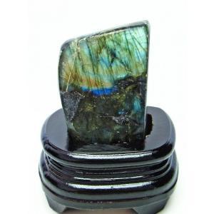 ラブラドライト 原石 t623-7217|seian